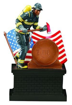 69568-Z Firefighter Statue