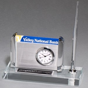 Glass Business Card Holder BC1023