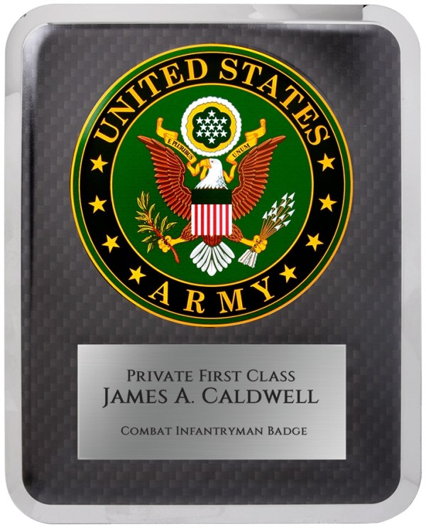 Army Seal Plaque HER201