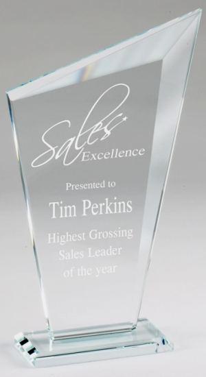 CE1125 Crystal Edge Peak Award