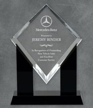 KT43338 Marquis Diamond Acrylic Award