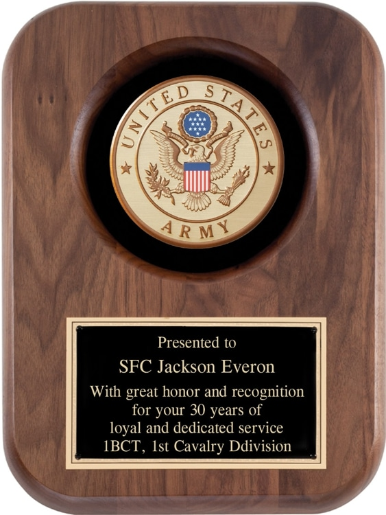 US Army Seal Plaque AT52