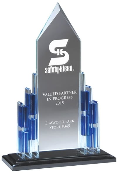 DT900 Crystal Cathedral Trophy