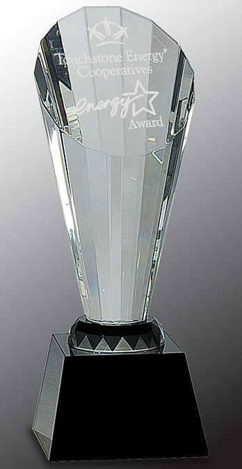 CRY059M Crystal Trophy