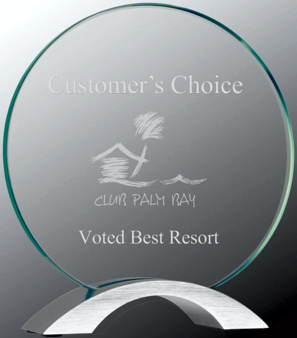 Round Glass Award CMG11