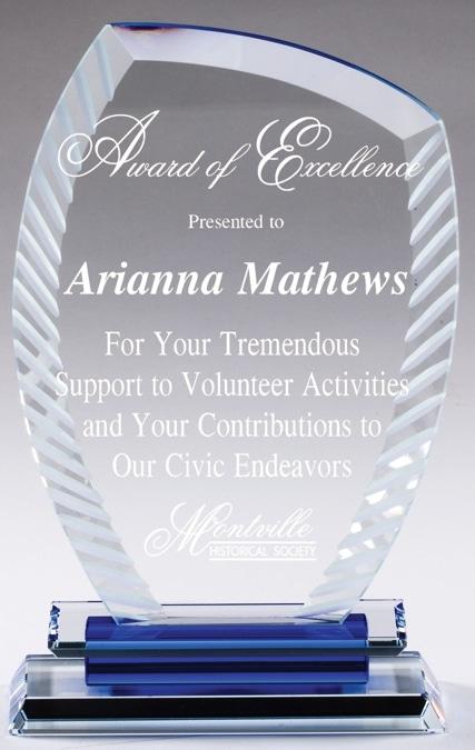 Everest Crystal Award CRY593