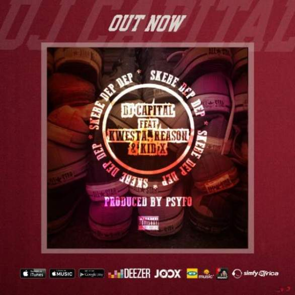 Hitvibes DJ Capital – Skebe Dep Dep (Remix) ft. Kwesta, YoungstaCPT, Stogie T, Kid X & Reason Music  YoungstaCPT Stogie T South Africa Reason Kwesta KiD X Hip Hop DJ Capital