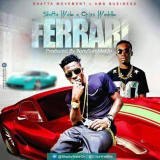 Shatta Wale ft Cris waddle – Ferrari Prod