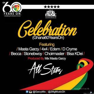 StoneBwoy Edem Becca Bisa Kdei × D Cryme Choir Master – Celebration Gh  Years On Prod By Mix Masta Garzy