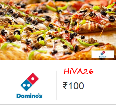 dominos instant voucher at amazon with discounts hiva26