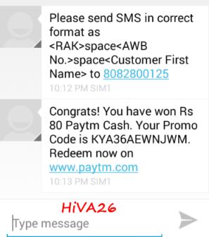 free paytm cash proof hiva26.jpe