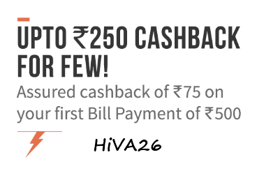 freecharge bill payment offer