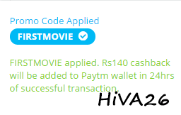 paytm first movie proof hiva26