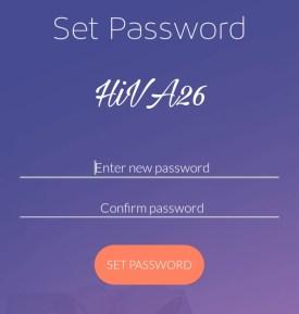 set pw in doboz app