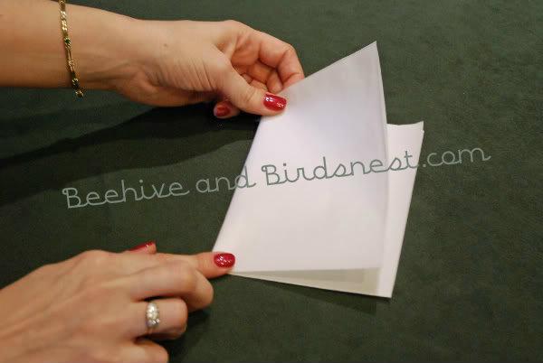second fold