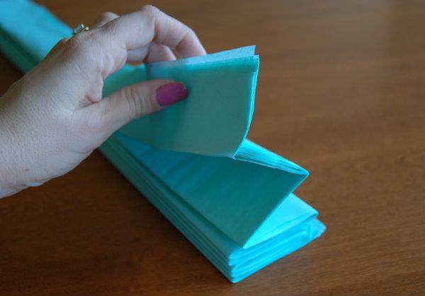 Tissue Paper accordion