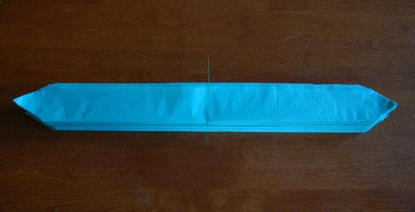 Tissue Pom folded