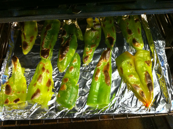 peppers not done yet