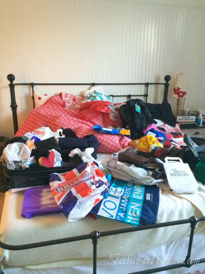 After trip chaos