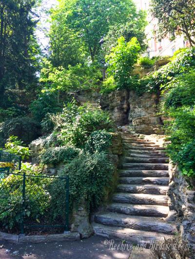 stairs sacre coeur