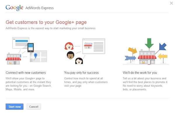 google plus ads
