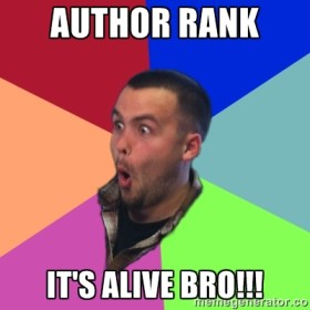 author rank is alive omg