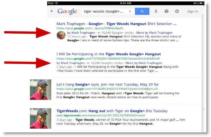 Google+ Posts in Google Search: Powerful But Flawed Search