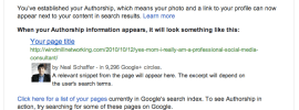 google-authorship-welcome-email