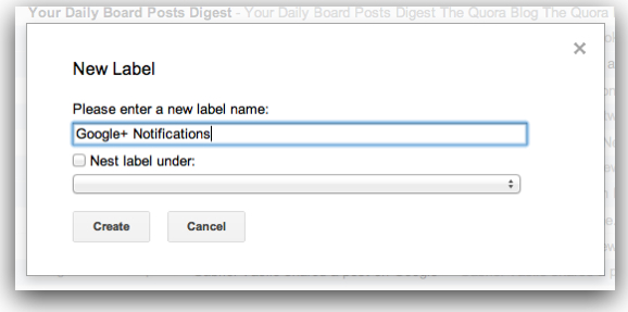 Gmail create label dialog box