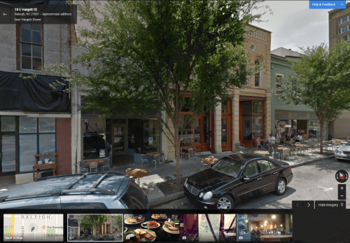 New Google Maps Street View