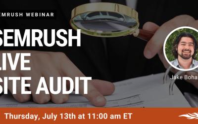 Site Audit with SEMRush SEO Audit Tool