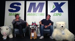 Danny Sullivan and Matt Cutts at SMX Advanced 2013