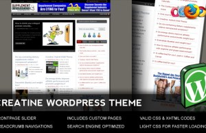 creatine wordpress theme