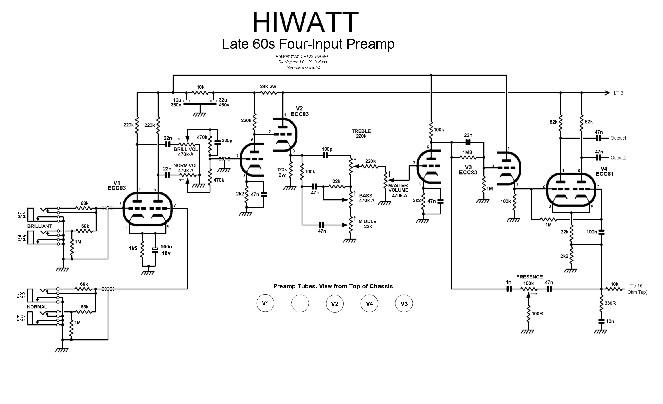 Mhuss Hiwatt Amplifier Pages
