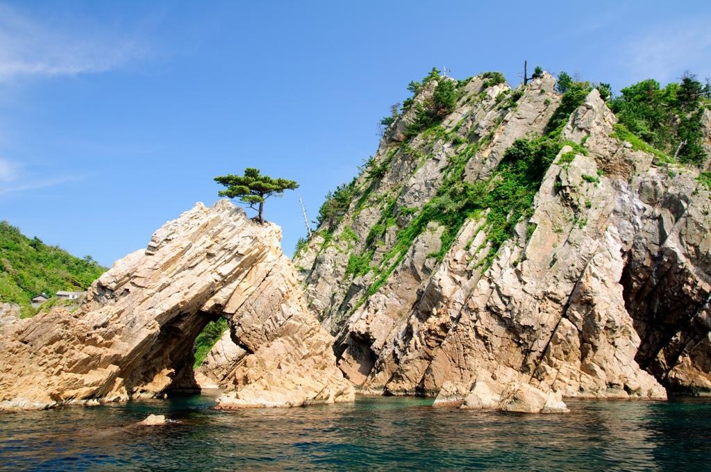 La baie de Matshushima au Japon