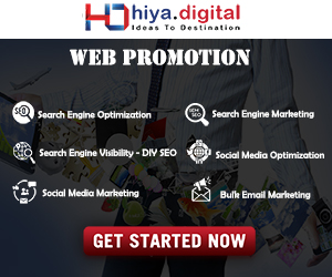 Web Promotion Hiya Digital