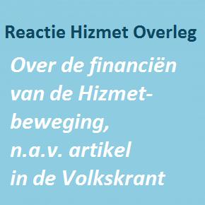 Reactie op Volkskrant artikel over financien