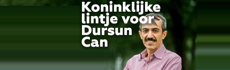 Dursun Can krijgt koninklijke onderscheiding