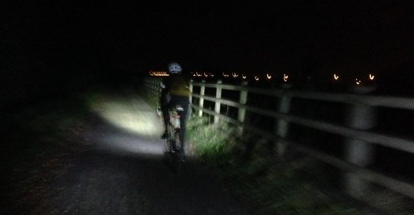 Cycling in the dark