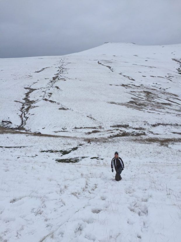 Snow Pen Y Fan Brecon Beacons