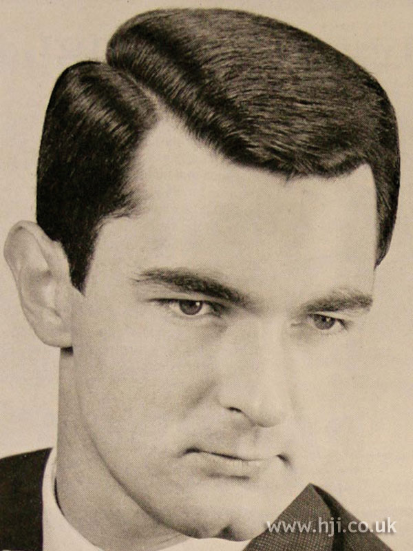 1963 Men Sculpture Hairstyle HJI