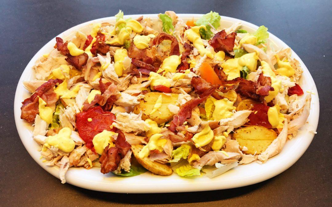 Club sandwich salat (uden brød)
