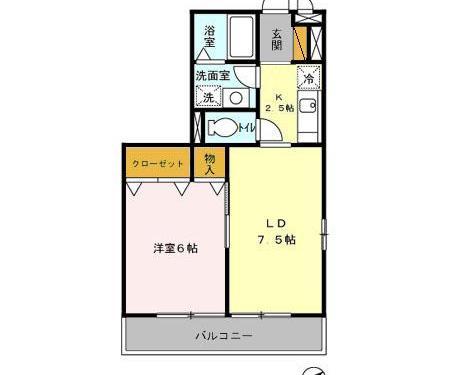 収納も豊富なお部屋です☆(間取)