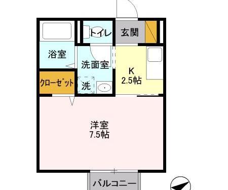 人気のバス、トイレ別☆(間取)