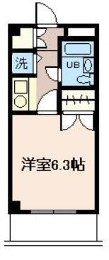 室内に洗濯機置場があります!(間取)