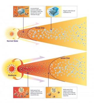 恆星的爆發促使生命演化