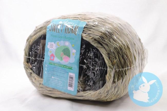 Momi 摩米 草編兔子屋