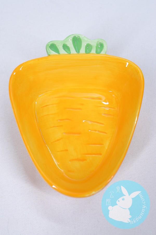兔兔天竺鼠龍貓小朋友用可愛蘿蔔造型碗子