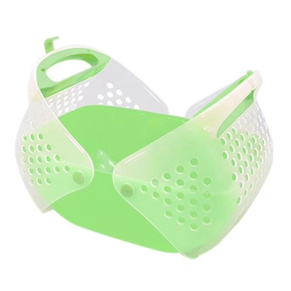 開頂式便攜外帶籠(綠色)