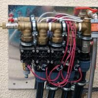Ein automatisches Bewässerungssystem für unseren Garten / Wasserverteilung und Magnetventile